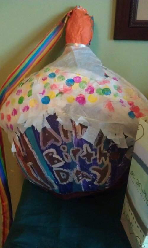 Making a pinata the hsd for How do you make paper mache glue at home