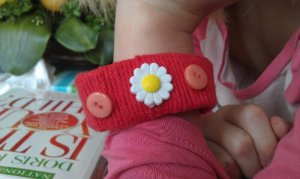 A craft one of the girls made up.  Crafting is definitely not my thing--but hey--it's hers and that's special.