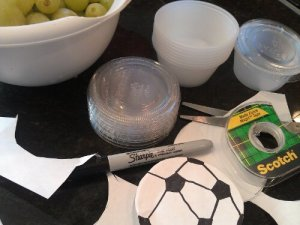 Soccer Snack Items