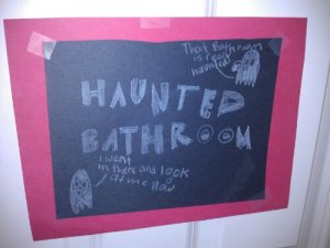 Haunted bathroom
