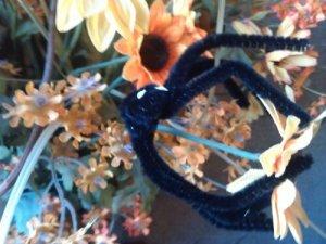 Spider on floral display