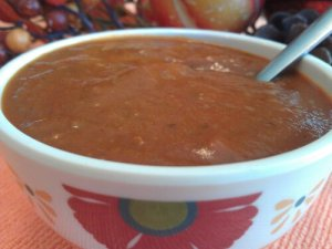 Homemade GAPS tomato soup