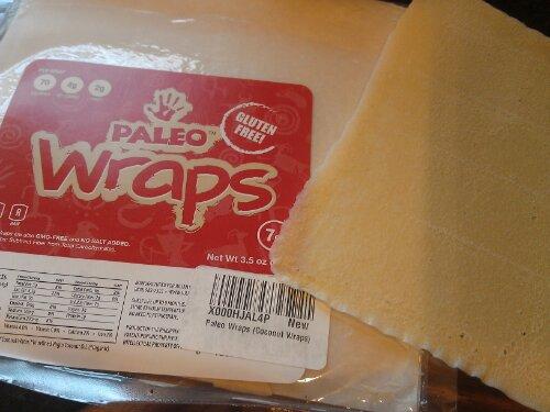 We tried Paleo Wraps.