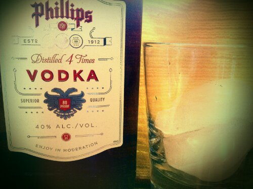 Vodka for homemade vanilla
