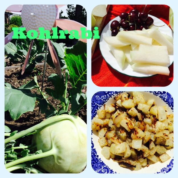 Kohlrabi Collage