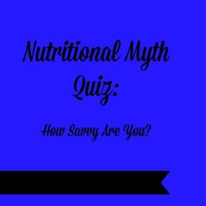 Nutritional Myth