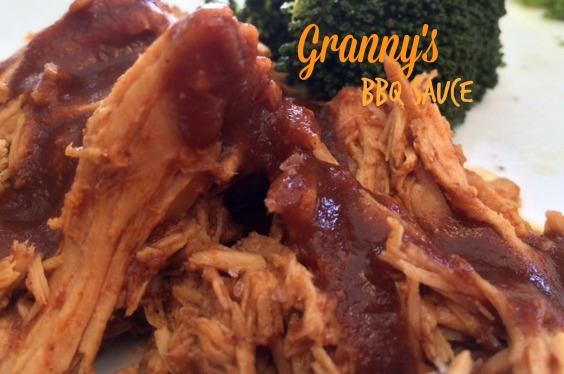 Granny's BBQ sauce