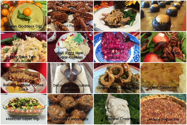 Wordpress Recipe Collage