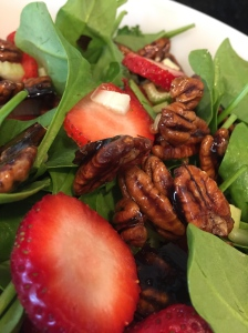 strawberry pecan salad 3