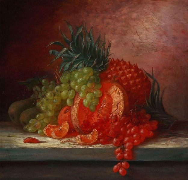 baadsgaard-alfrida-ludovica-vi-opstilling-med-ananas-druer-og